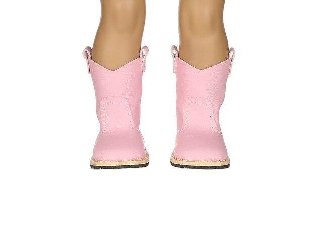 Nieuwe stijl populaire roze boot schoenen & mode schoenen fit 18