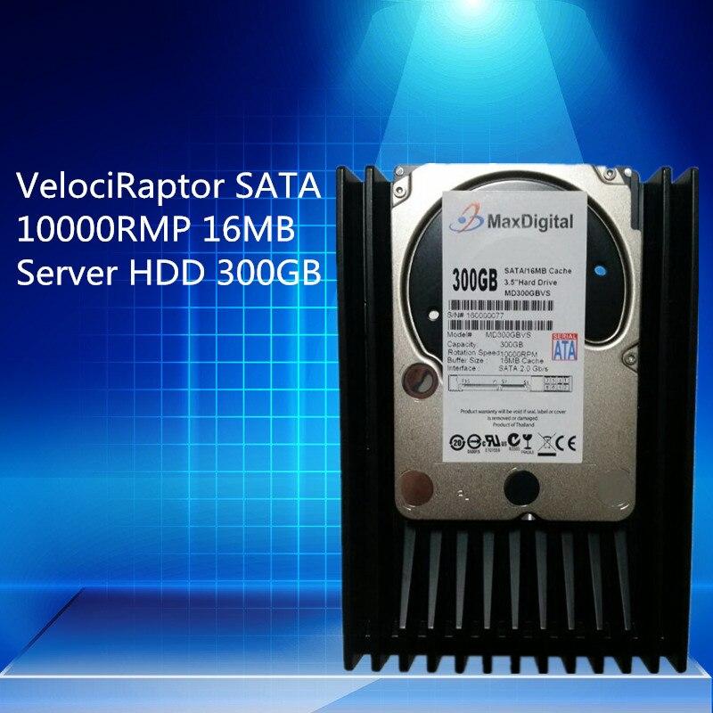 VelociRaptor 300GB 3 5inch SATA 16M 10000RMP Server HDD Warranty for 1yera