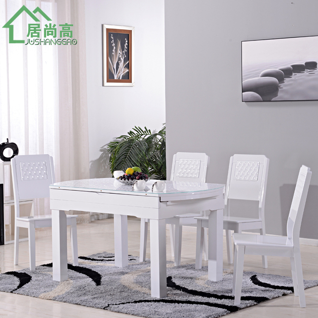 Hábitat todavía alta comedor muebles combinación con estilo, moderna ...