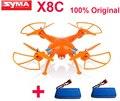 ( obtener una batería extra ) original Syma X8C joint Venture 2.4 G 4ch 6 Axis con 2MP cámara gran angular RTF helicóptero RC como DJI Phantom