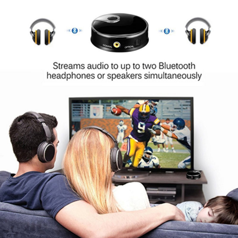 Tragbares Audio & Video Qualifiziert Bgektoth Dual Stream Bluetooth Sender Digital Optical Fiber Drahtlose Audio Adapter