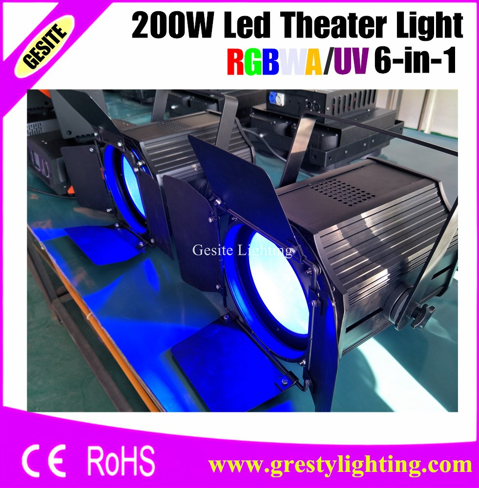 4pcs/lot dj led disco lights 200w cob par light par 64 cob led rgbwAUV