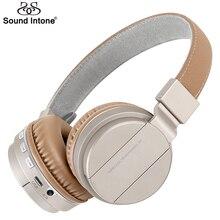 Sonido Entonan P2 Bluetooth Inalámbrico Auriculares Estéreo de Auriculares con 40mm conductores Auriculares Apoyo Tf para el iphone Samsung Sony