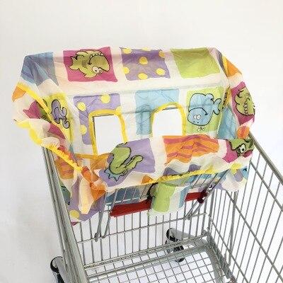 2 в 1 детская корзина гамак тележка для обеденного стула защиты антибактериальные безопасности дорожная подкладка Защитная крышка для детей - Цвет: 9