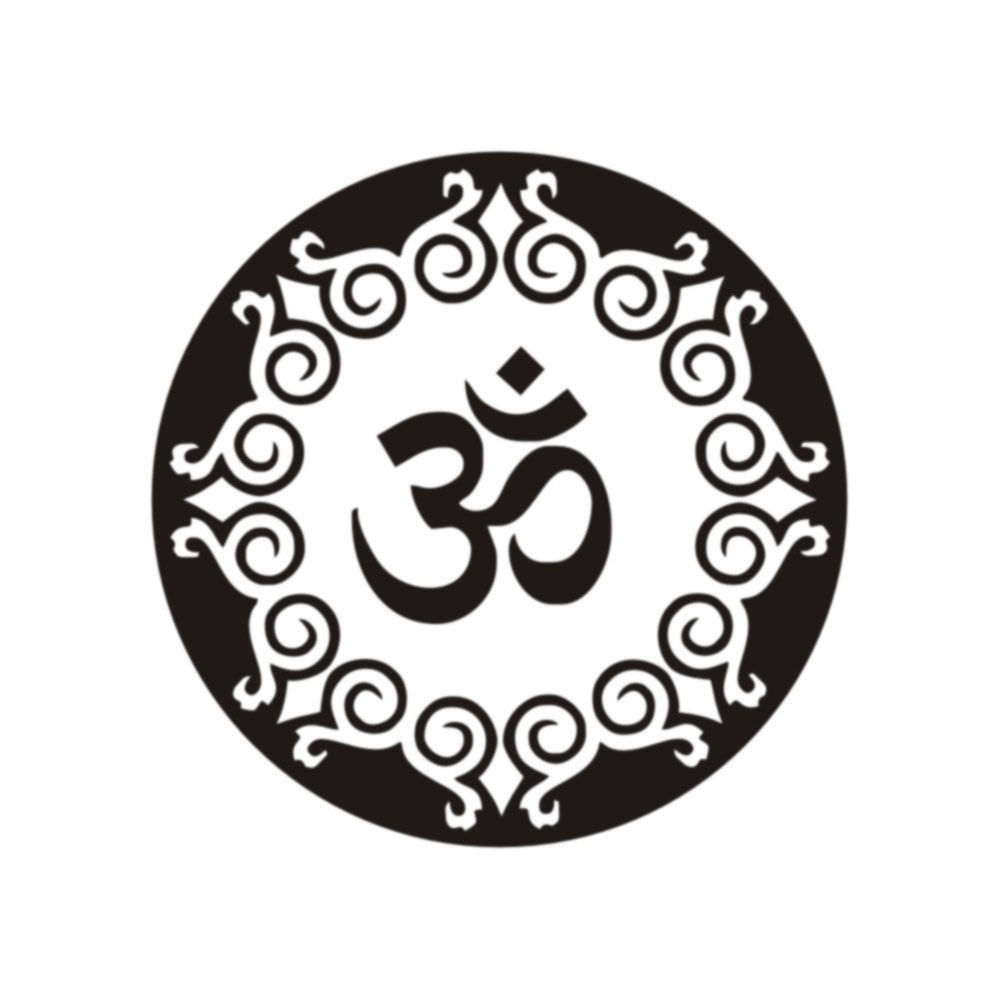 G193 mandala wall decals om symbol yoga decal vinyl sticker home g193 mandala wall decals om symbol yoga decal vinyl sticker home decor murals bedroom decorative art of living room wall sticker in wall stickers from home buycottarizona
