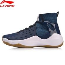 Li-Ning Men Sonic VI Professional Basketball Shoes Mono Yarn Cushion LiNing TPU Wearable Sport Shoes Sneakers ABAN021 XYL147