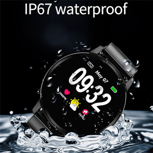 Image 2 - LIGE Smart Bracelet Men Women IP67 Waterproof Fitness Watch Full screen touch screen Can Control Music Playback For Android ios