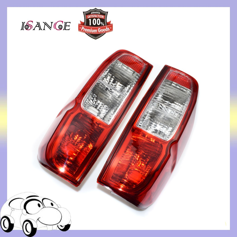 ISANCE Rear Left Right Tail light Taillight Lamp Cover For Nissan D40 Navara Frontier Pickup 2005