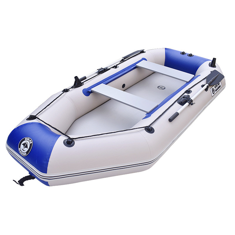 Drifting Surfing Fishing Boat 3 Person Rubber Inflatable Boat Fishing Sport Kayak Canoe Pvc Dinghy Raft With Aluminium Paddle high pressure dc 12v electric air pump for inflatable boat dinghy raft sup surf board stand up paddle kayak canoe c73002