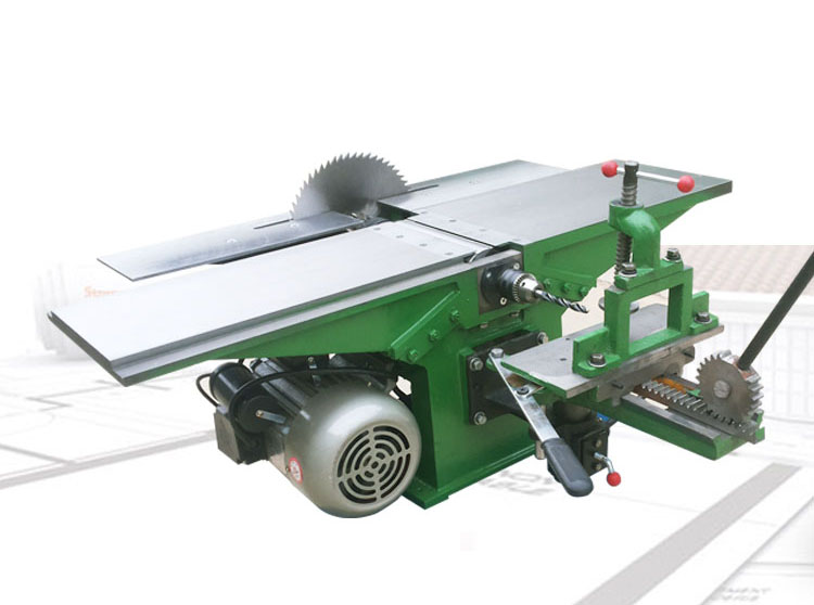Electric Planer Table Saw Three-in-one Woodworking Planer  Chainsaw Desktop Multifunctional Woodworking Machine 292E5