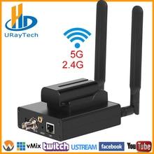HEVC H.265 H.264 HD 3g SDI к ip-кодер SDI RTSP RTMP потокового Encoder HD-SDI 3g-SDI передатчик батарея поддержки Live