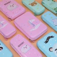 Licorne porte-Crayon Estuche Unicornio Escolar grand étui pour stylos et crayons Estuches Lapices Trousse Crayon rose Animal EVA
