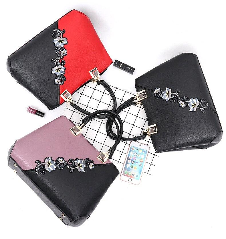 18 New women Handbags Fashion leather handbags Shoulder Bag women top-handle bags 3