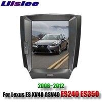 Для Lexus ES XV40 GSV40 ES240 ES350 2006 ~ 2012 Liislee автомобильный мультимедийный плеер навигационная система, стереомагнитола радио карты gps навигации