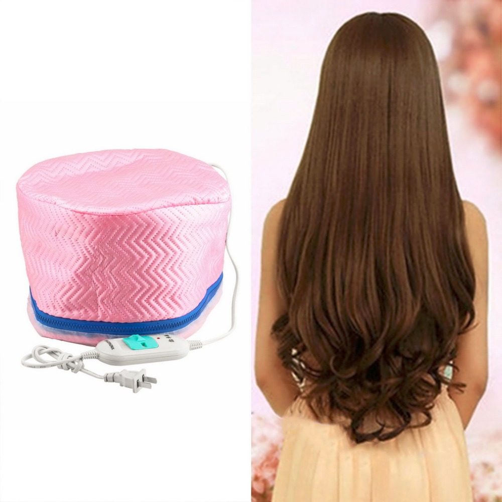 2018 Electric Hair Thermal Treatment Beauty Steamer SPA Nourishing Hair Care Cap Styling Tools Anti-electricity Heating US Plug hair care professional electric salon thermal beauty steamer spa nourising hair barbers cap heated hairdressing style cap tools