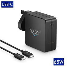 USB C Wall Charger 65W Type C Power Delivery Fast Charger for Tinkpad X1 Lenovo Yoga Chromebook 5V~20V 20v 3 25a 65w usb c type c laptop mobile phone power adapter charger for lenovo asus hp spectre 13 for huawei eu wall charger