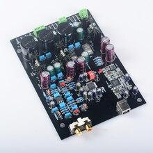 K. GUSS Montado U8 + LT1963 AK4495SEQ + AD827 USB XMOS DAC decodificador bordo Apoyo 32BIT 768 K LT1963-3.3 tablero Del Amplificador audio