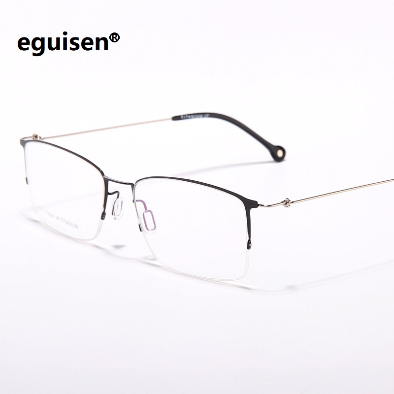 5a40ba322 Cheap Men's Eyewear Frames, Buy Directly from China Suppliers:width-140 New  titanium