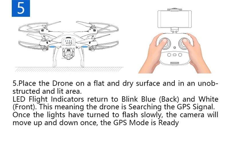 [EU USA JP Stock] Holy Stone HS100 GPS Selfie FPV Drone 500m Flight Range 2500mAh 1080P 7P Camera RC Quadcopter No Tax to EU 22