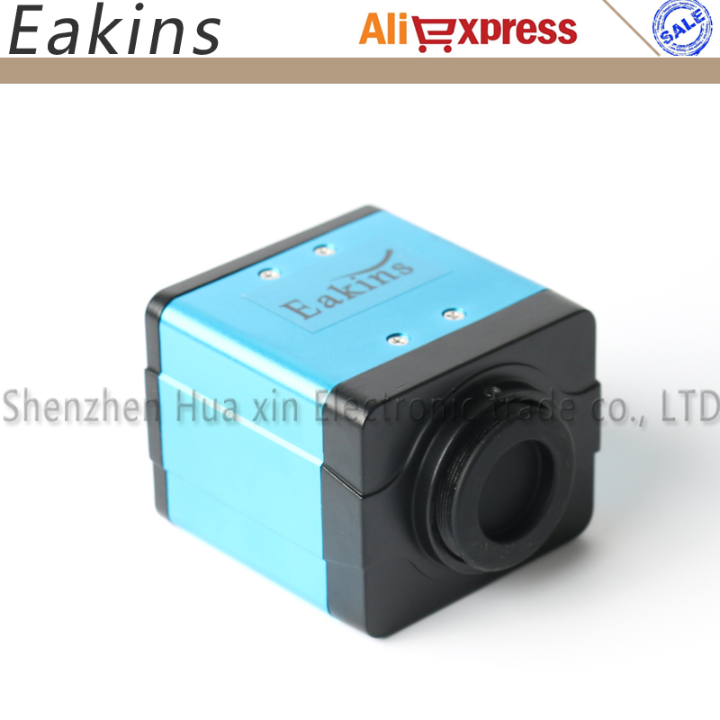 2MP 1/2.5 inch 45 frame 1920*1080 3 in1 Digital Industrial Microscope Camera or PCB lab VGA USB CVBS Outputs free shipping 5mp hd usb digital industry industrial microscope camera 1 3 cmos for pcb lab inspection