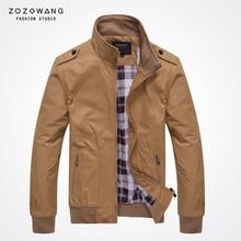 Zozowang men collar jacket young business casual