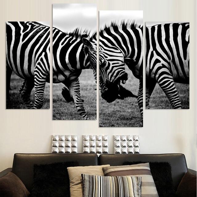 4 panelen canvas twee zebra paard schilderen op canvas muur foto 4 panelen canvas twee zebra paard schilderen op canvas muur foto home decor fou067 thecheapjerseys Gallery