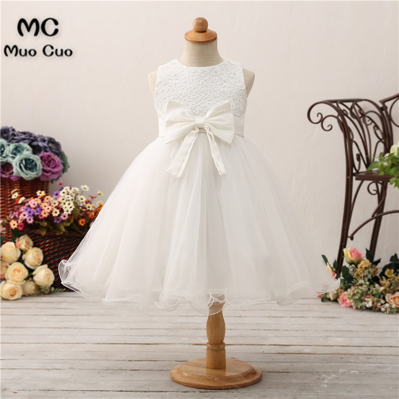 2018 Infant Vestido Infantil   Flower     Girls     Dresses   Petals Elegant Pageant Formal   Flower     Girl     Dress   for Wedding Party   Dresses