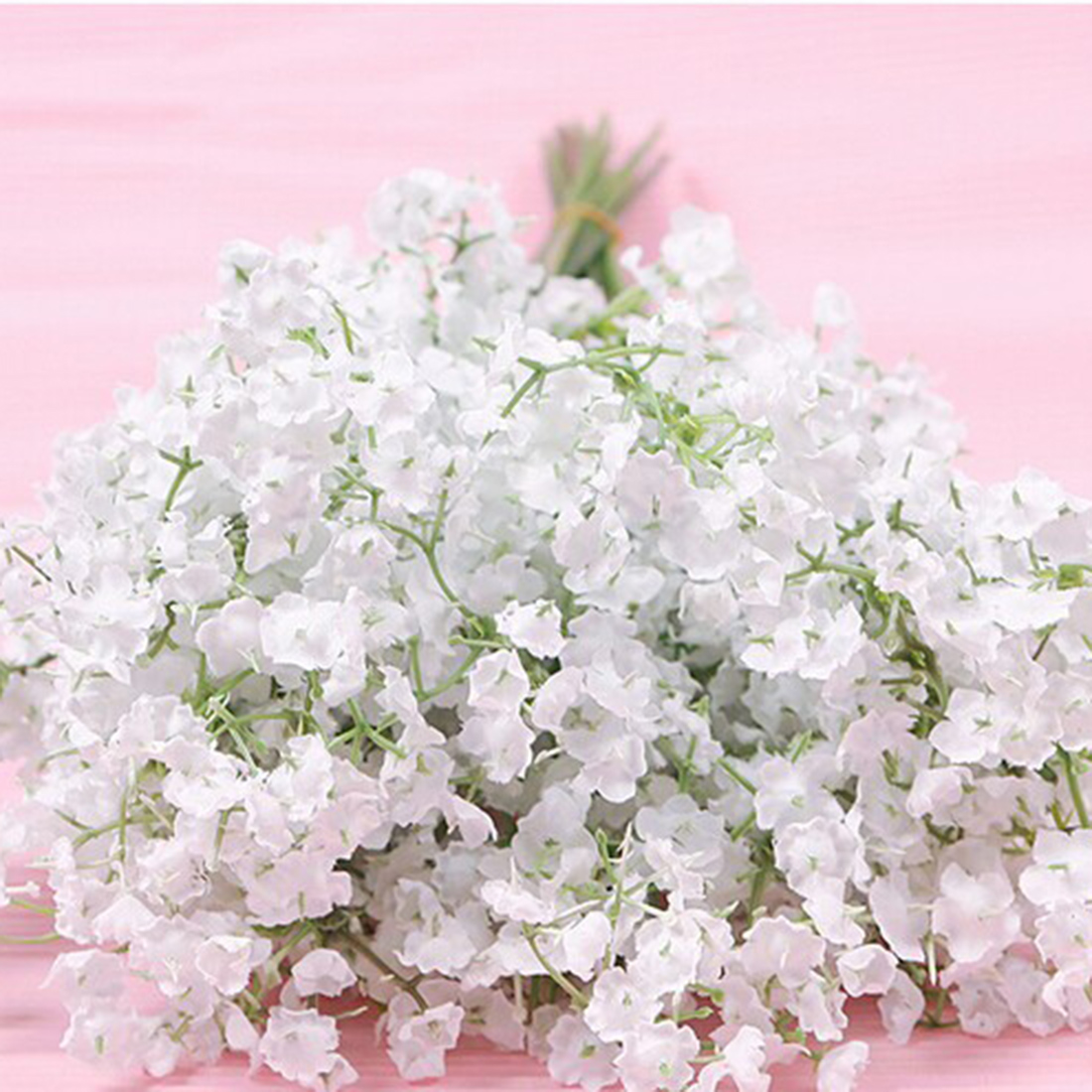 2016 New 10pcslot Beautiful Gypsophila Artificial Fake Silk Flowers
