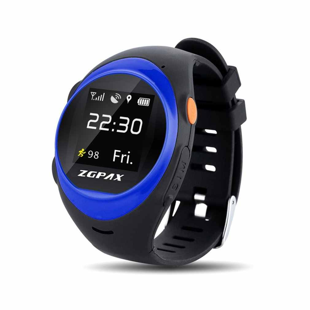 Smart With SOS GPS Intelligent Watch Tracker Fitness Sport  S888 Anti Failing Alarm Tracker For Man Woman Kids Gift