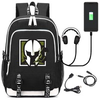 NEW Game Tom Clancy's Rainbow Six Backpack Student School Bag Bookbag for teenagers Laptop Shoulder Travel Bags Gift