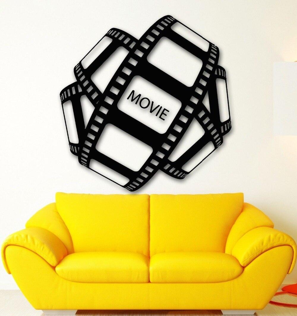 Hot Sale Wall Sticker Vinyl Decal Movie Film Hollywood Cinema TV ...