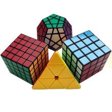 Professzionális Magic Cube 3 * 3 * 3 3x3x3 Speed 4x4x4 5x5 QiYi Cube Pyraminx Megaminx Neo Cube 4 * 4 * 4 kenőanyaggal 5 * 5 Cubo Megico