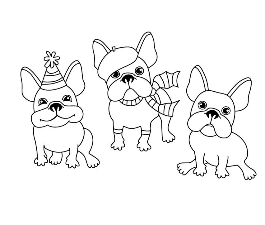 Online Shop Cartoon Dog Stamp Clear Stamp For Scrapbooking