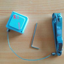 50 шт Анти-потерянный выдвижной ящик дисплей защитный кабель товаров безопасности Recoiler для колец, сувенир, брелок, ювелирных изделий, часов, очков, камера