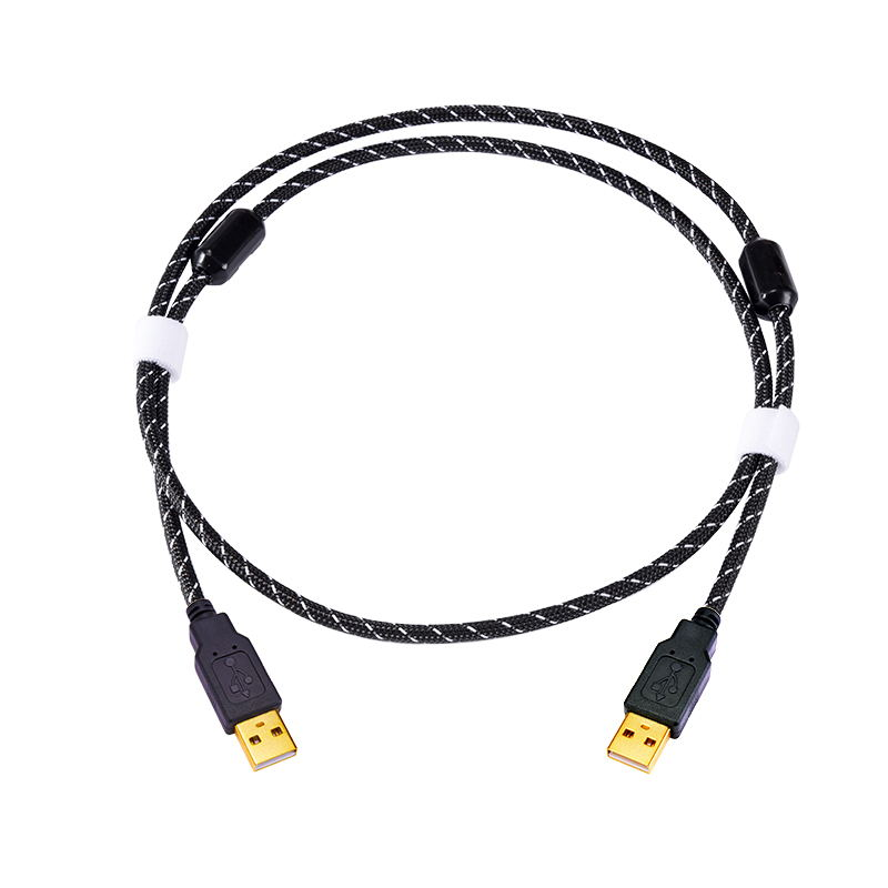 Fanmusic ZY Cable 6N OCC HIFI Decoder Computer OTG USB Cable Type A / Type B / Type C/ Micro Mobile Phone USB Cable