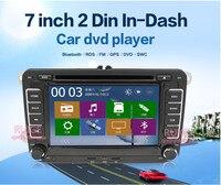 Стерео для vlolkswagen Jetta Passat в тире double-din моторизованный 7-дюймовый автомобильный Радио dvd-плеер сенсорный dvd/cd/USB/SD/MP4