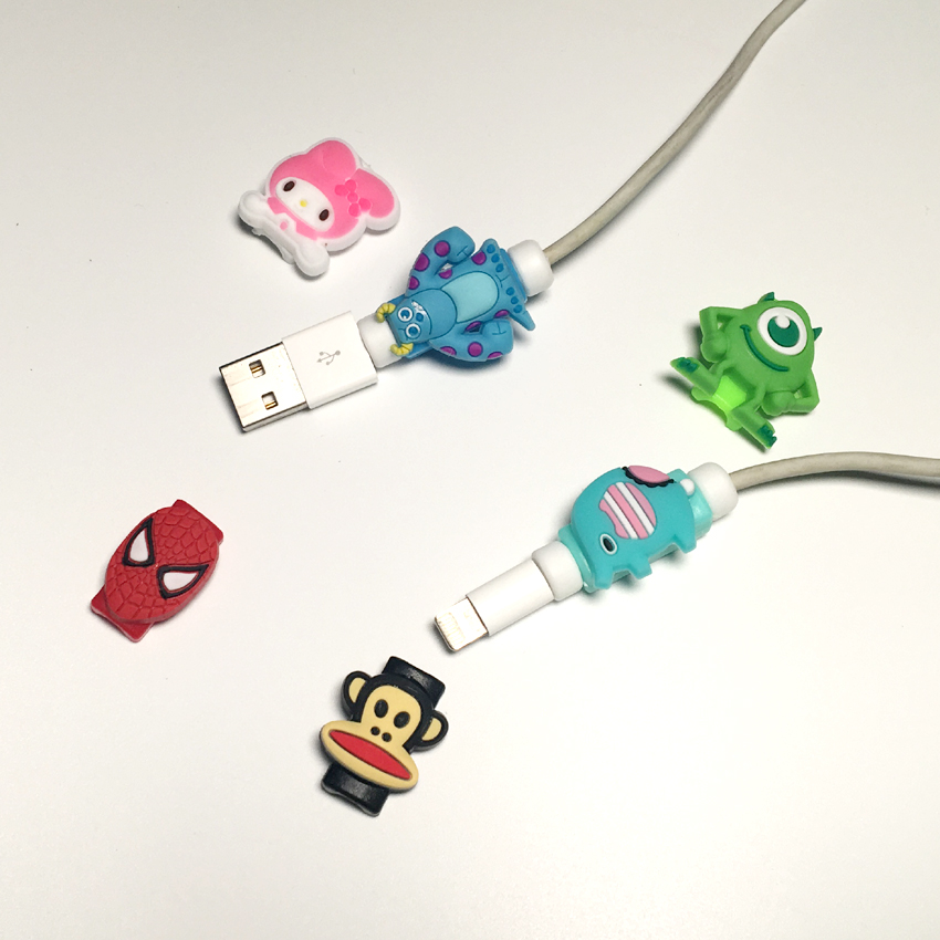 50 Pieces 1 Lot New Cable Protector For Iphone Usb Cord
