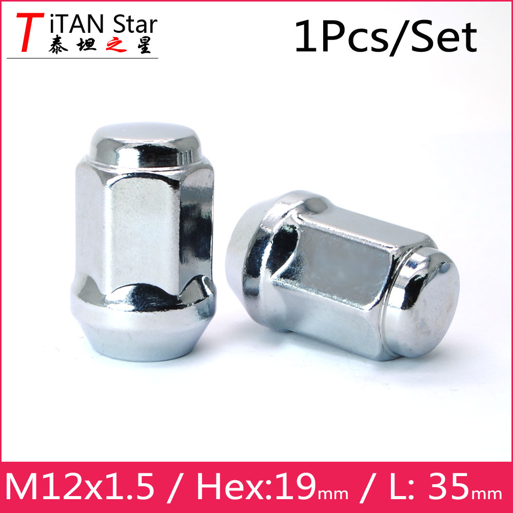 4 x Ford Transit Connect Alloy Wheel Nuts OE Style M12 x 1.5 Silver