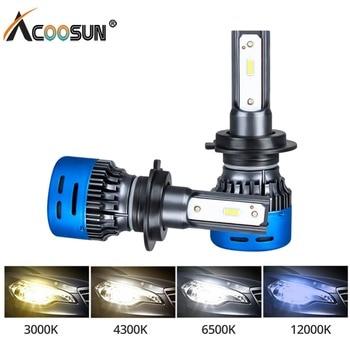 H4 LED H7 H4 LED Car Headlight Bulbs 12V LED Auto Lights 6500K 4300K 3000K 12000K Bombillas H1 H11 H8 H9 9005 9006 Car Head Lamp
