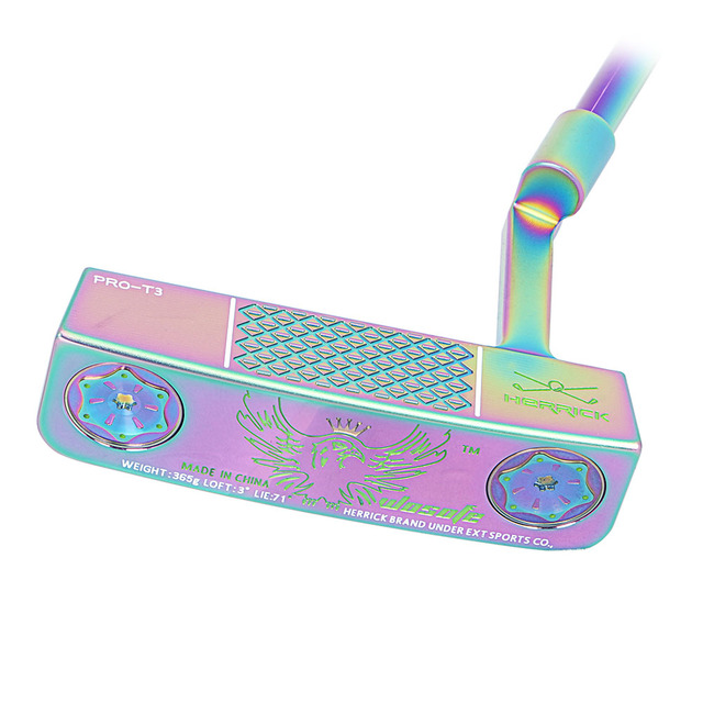 High quality Golf clubs putter colour right hand men steel shaft CNC Milled putter free shipiping