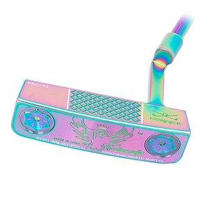 Image 1 - 高品質のゴルフクラブパターカラー右手男性スチールシャフトcncミルドパター送料shipiping