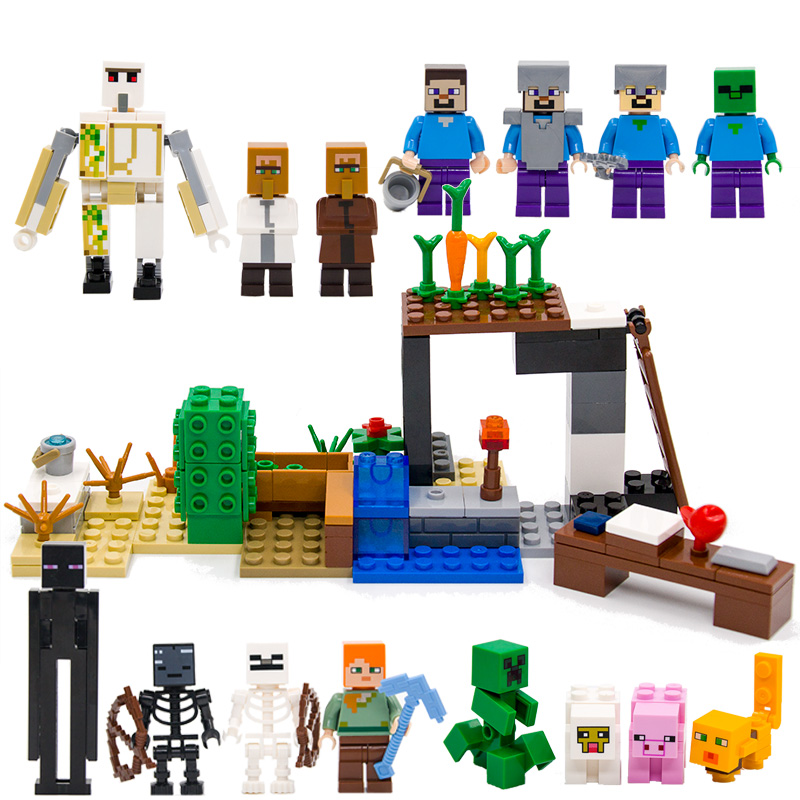 Toys & Hobbies Devoted 8pcs/lot Building Blocks Brinquedos Model Set Figures Toys Minifigures Sword Espada For Boys/girls Compatible With Legoings Latest Fashion