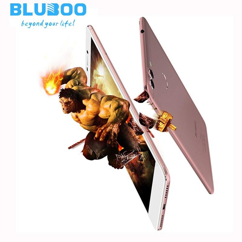Bluboo dual cámara dual mtk6737t núcleo cuádruple teléfono móvil android 6.0 Tel