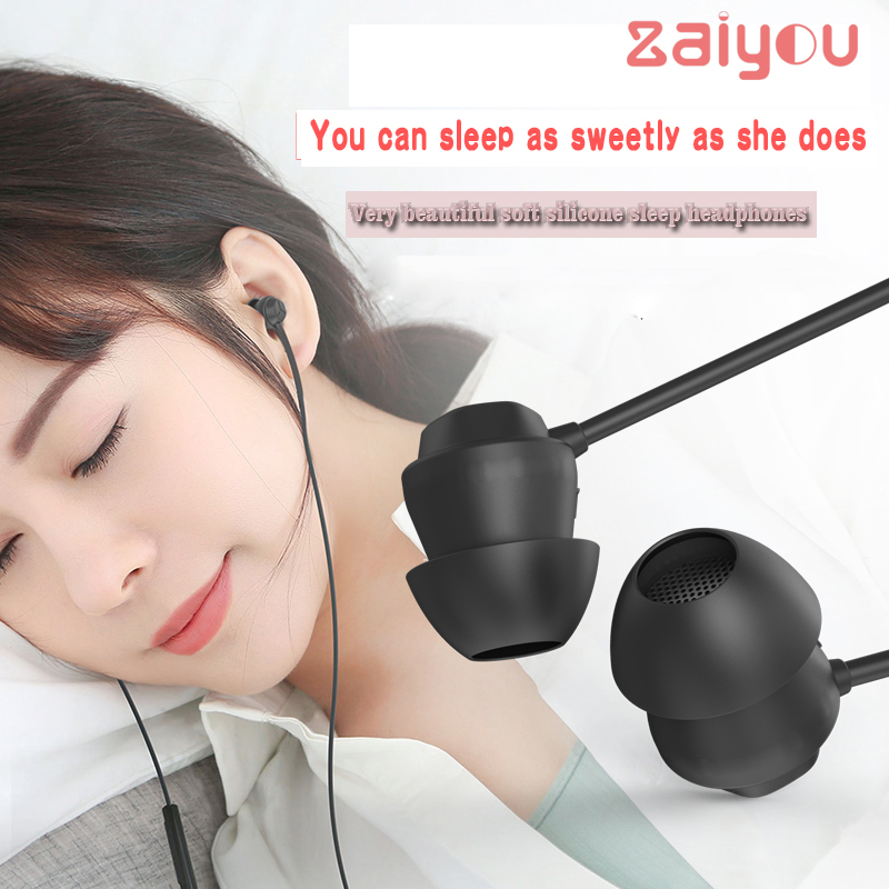 denoise voice Sport Running Sleeping Earphones Environmentally friendly soft material Headset Sleep Earphones for Iphone Samsungdenoise voice Sport Running Sleeping Earphones Environmentally friendly soft material Headset Sleep Earphones for Iphone Samsung