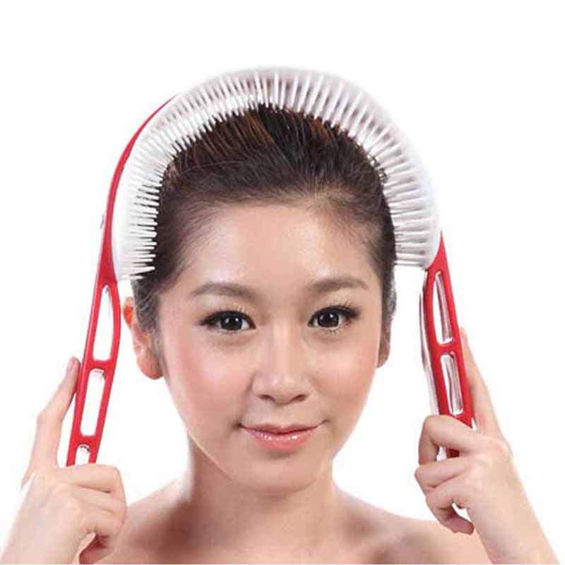 New relaxed handle brain head acupoint stimulation massage Health care beauty massager Free Shipping 6 bottles 600pcs omega 3 capsules healthy for cognition heart brain health optimal wellness immune support supplement free ship