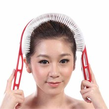New relaxed handle brain head acupoint stimulation massage Health care beauty massager Free Shipping
