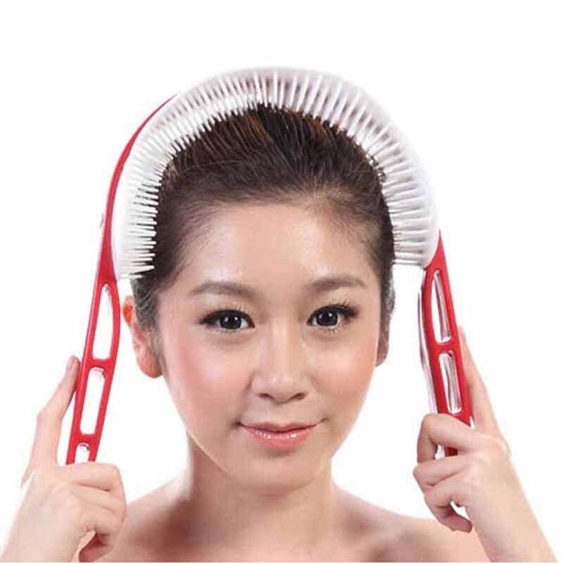 Nueva empuñadura relajada cabeza cerebro estimulación del punto de acupuntura ma