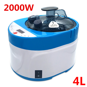 Sauna Generator 4L 2000W Touch Screen Switch 2019 New Steam for Accessories Larger Capacity Shower Cabin