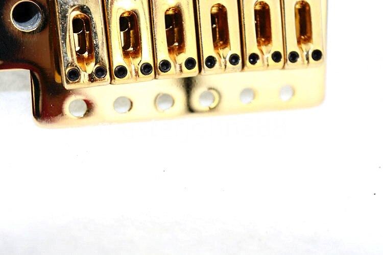 Gold Electric Guitar Bridge Tremolo Bridge For FD Strat SQ Electric Guitar  Free Shipping