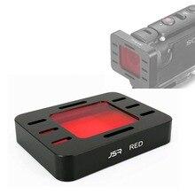 수중 다이빙 전체 붉은 색 렌즈 보호대 필터 커버 소니 MPK UWH1 HDR AS50 hdr as50r as300 as300r x3000 FDR X3000R
